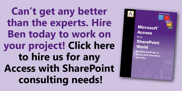 How to Use SharePoint lists with Microsoft Access In-Depth