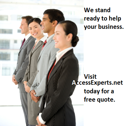 Access Experts Ready to Help