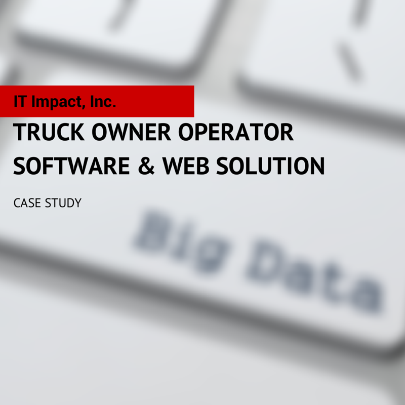 Truck Owner Operator Software and Web Solution
