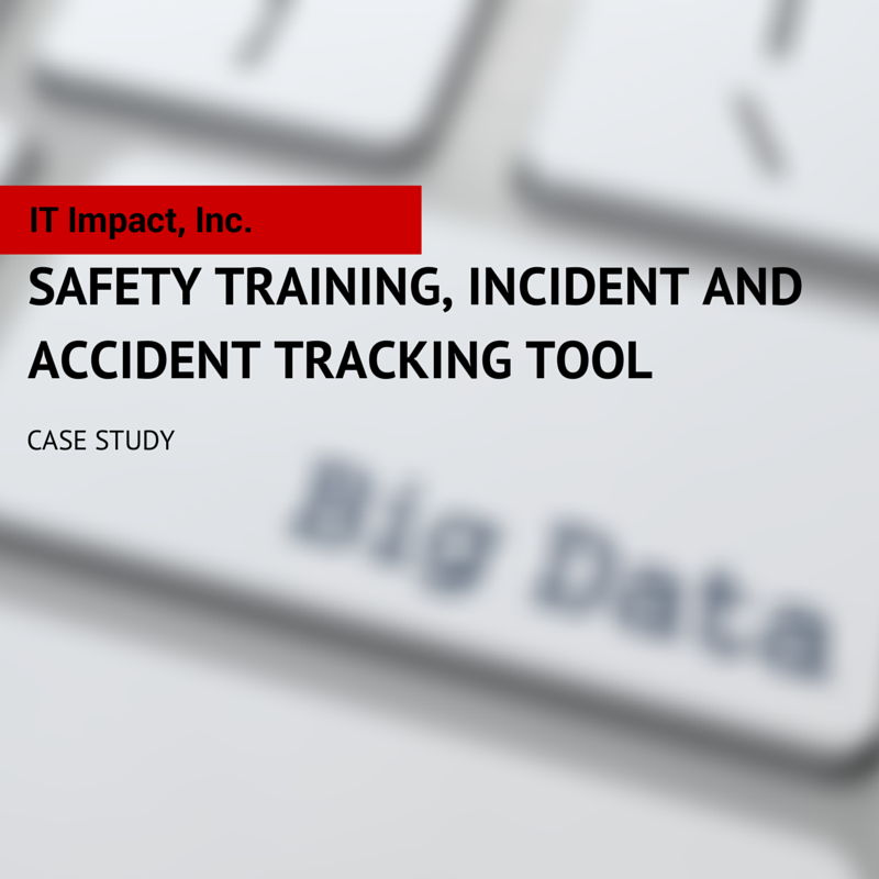 Safety Training, Incident and Accident Tracking Tool