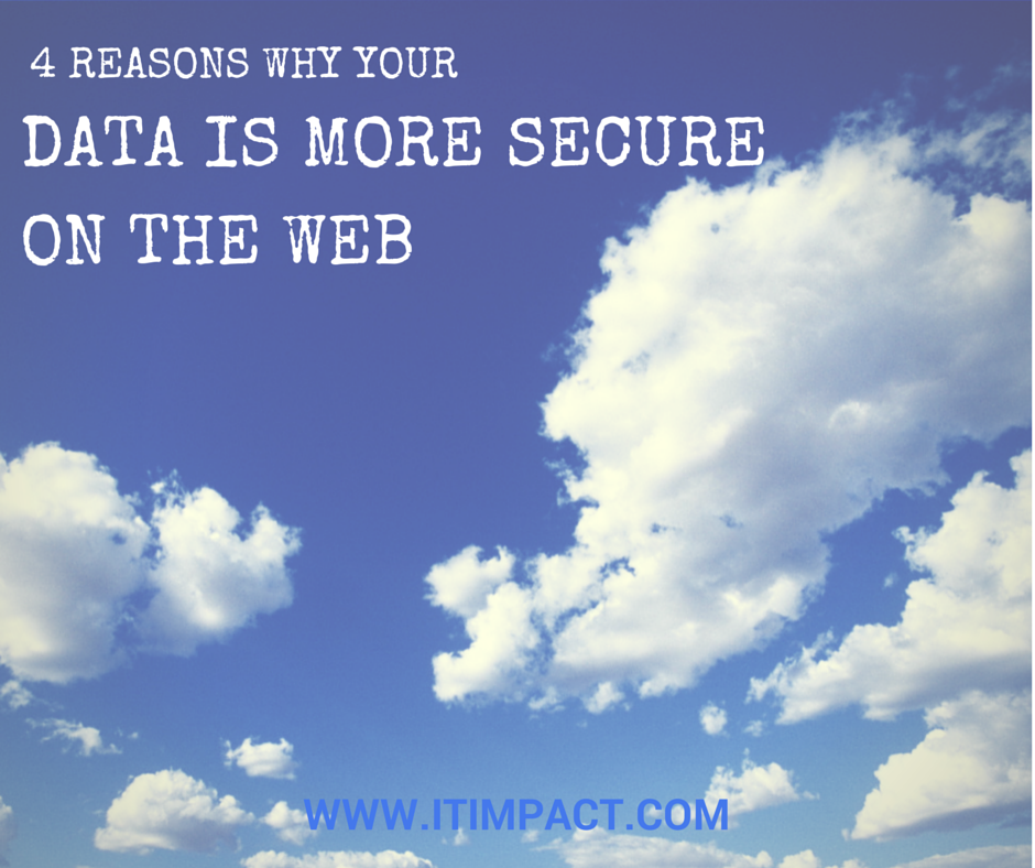 4 Reasons Why Your Data is More Secure on the Web IT Impact Access Experts Juan Soto Microsoft MVP Chicago