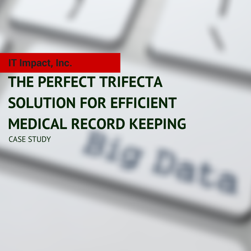 The Perfect Trifecta Solution for Efficient Medical Record Keeping