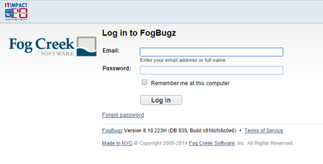 FogBugz IT Impact