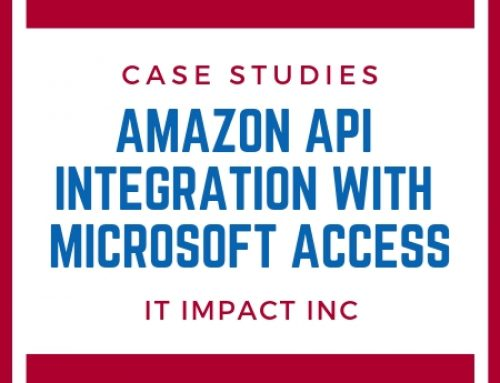Amazon API Integration with Microsoft Access