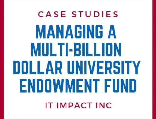 Managing a Multi-Billion Dollar University Endowment Fund