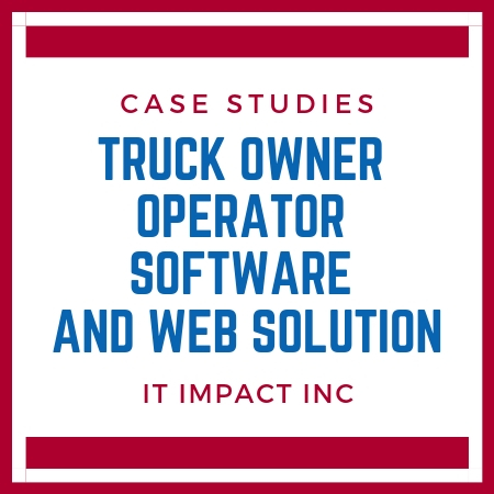 TRUCK OWNER OPERATOR SOFTWARE AND WEB SOLUTION | 773-809-5456