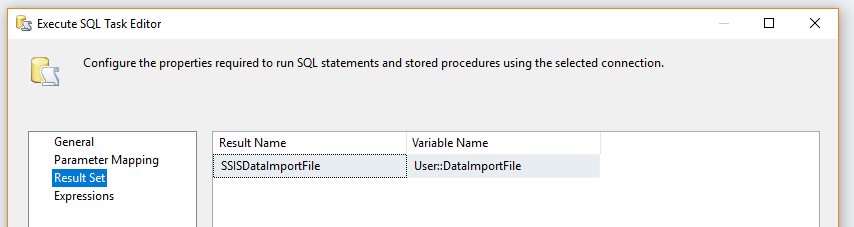 Access with SQL Server - Import large datasets using a simple SSIS